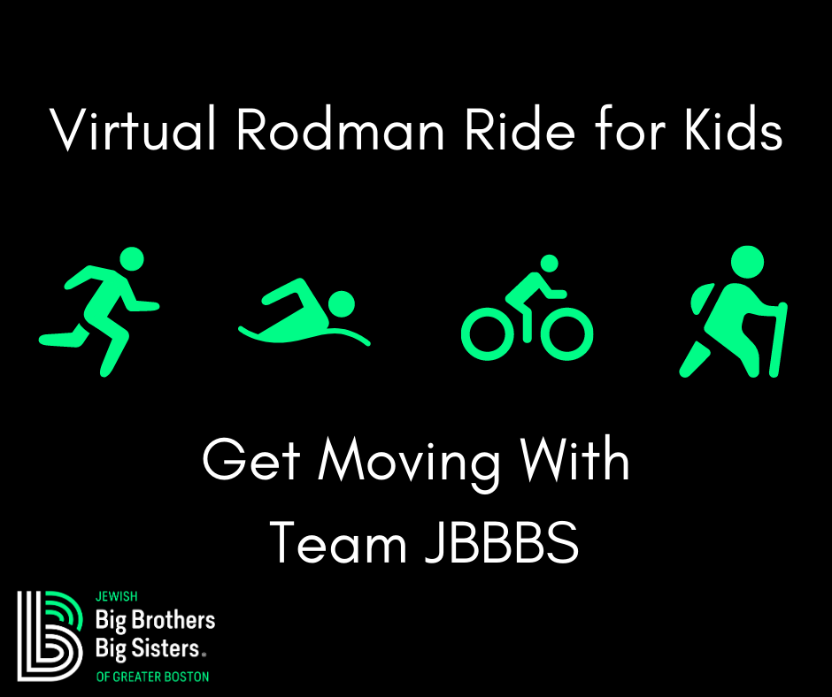 Rodman Ride Social Media Graphic on Black Background